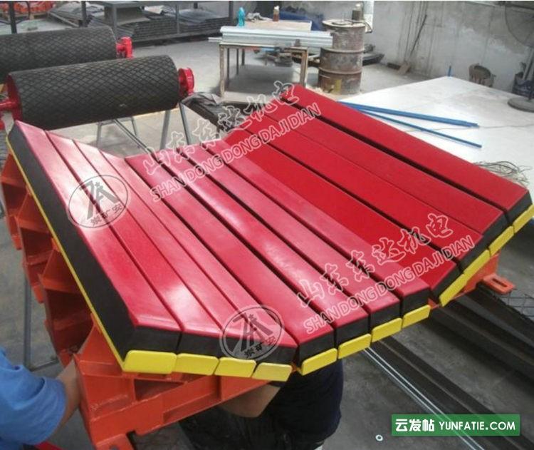 矿煤仓口皮带机保护皮带使用缓冲床