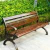 献县户外休闲椅 实木座椅 公园凉椅 现货供应