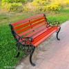 献县户外休闲椅 实木公园长椅 露天等候座椅 厂家批发定制