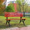 献县户外休闲双人长椅公共休息长凳公园扶手椅