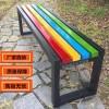 献县户外园林木质平凳景观坐凳公共休息长凳 现货供应