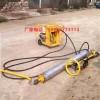 金尊透水摊铺机单滚轴混凝土铺平机全液压渗水动力站